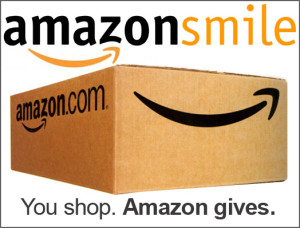 Shop at Amazon Smile and a percentage of your purchase will be donated to us